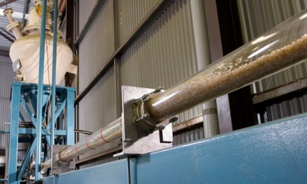 Pneumatic conveying testing