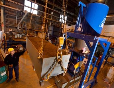 Crane scale modelling
